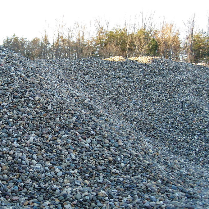 Charlottesville landscaping decorative gravel from the for Smooth river rocks for landscaping
