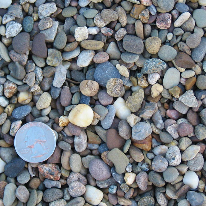 57 Stone Size : Charlottesville landscaping decorative gravel from the