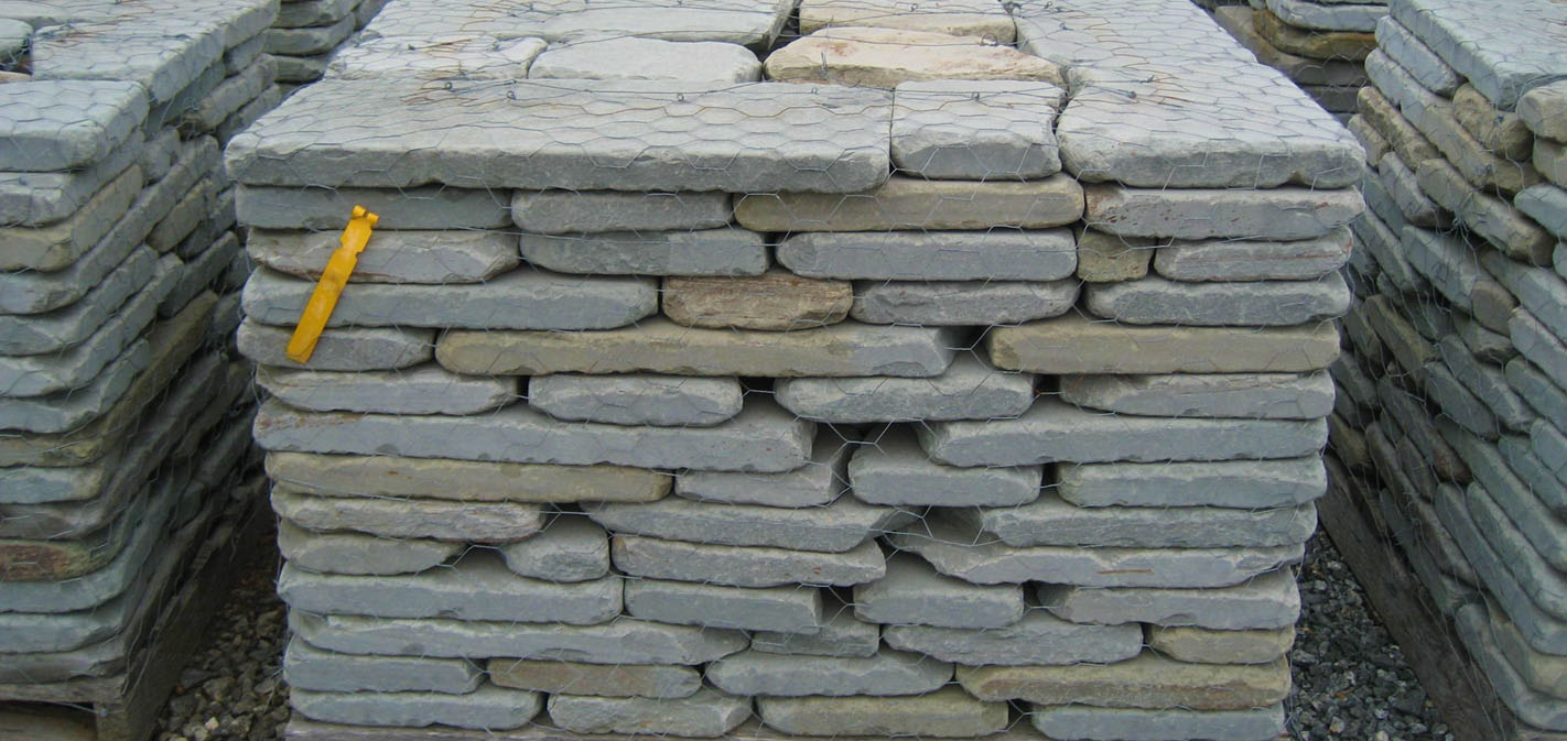 Charlottesville stone and landscape materials decorative wall tumbled blue path wall stone amipublicfo Images